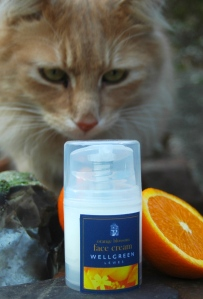Orange Blossom Face Cream - even Monty loves it