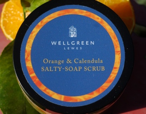 Orange Salty-Soap-Scrub