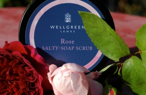Rose Salty-Soap-Scrub